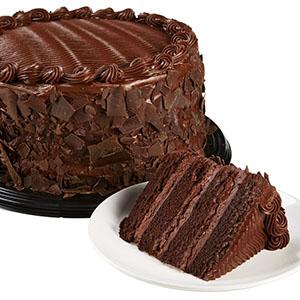 chocolate cake catered