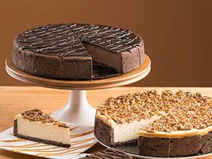 various cheesecakes