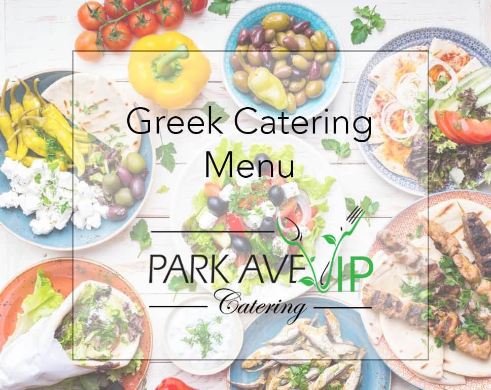 greek catering menu orlando
