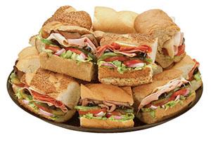 Various Sandwich Platter