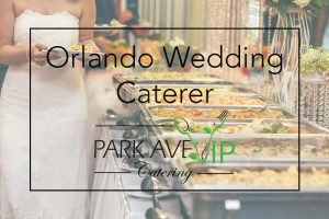 wedding catering orlando
