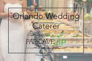 wedding catering orlando